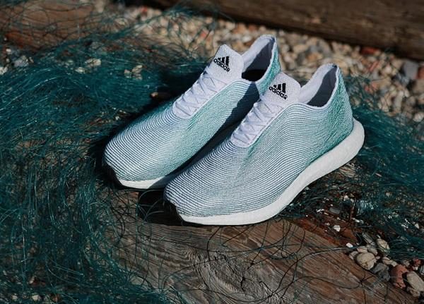 变废为宝 阿迪设计一双海洋垃圾作的鞋