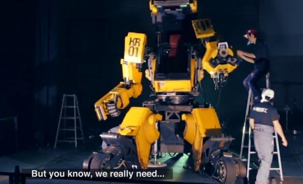 日本人和美国人要玩巨型机器人格斗