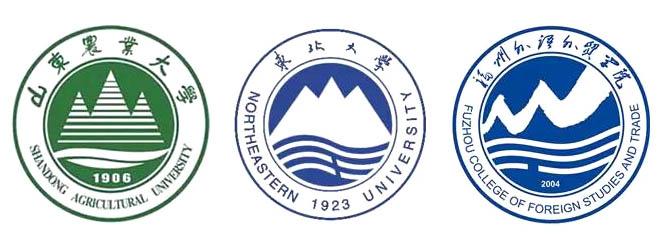 山东农业大学 vs 东北大学 vs 福州外语外贸学院