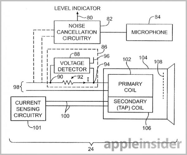 苹果新专利:自动调整密封效果的智能降噪耳机