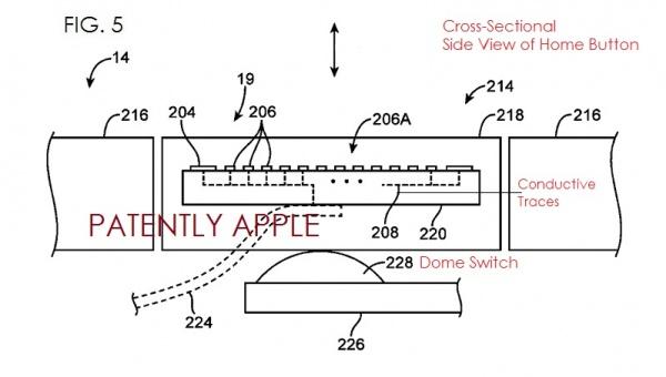 新专利揭示iphone 5s指纹识别传感器究竟如何工作