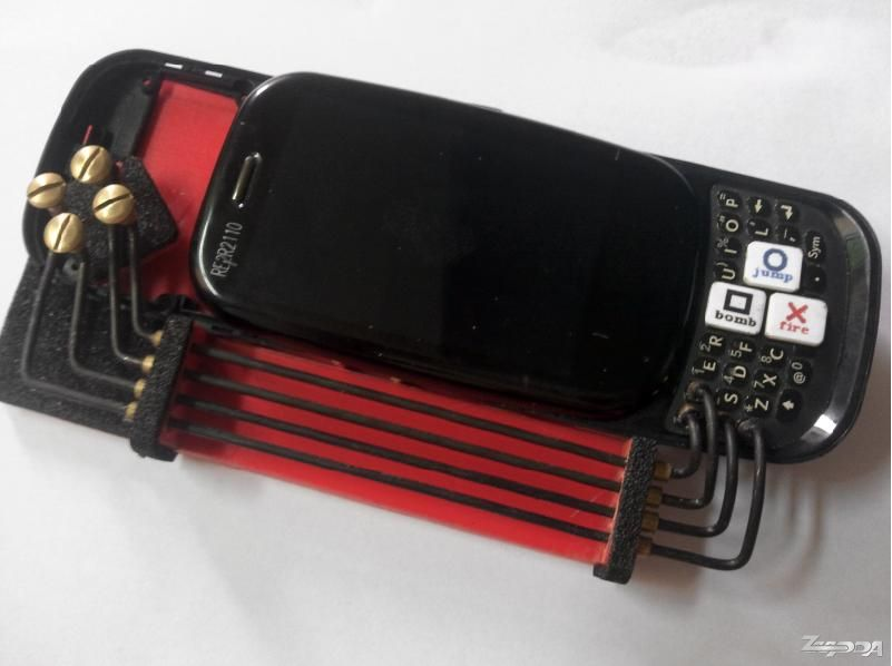 人改装Palm Pre 2 打造史上最邪恶的触手系Pa