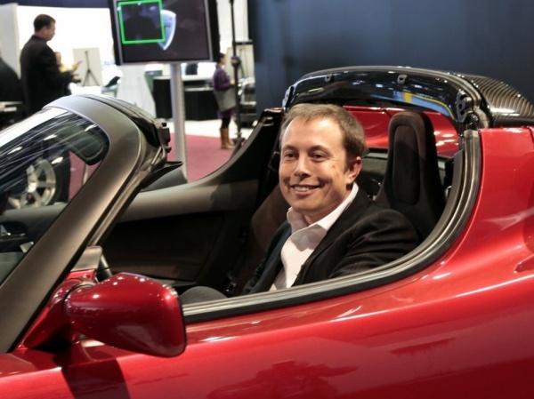 特斯拉CEO埃隆 马斯克的精彩人生高清图片