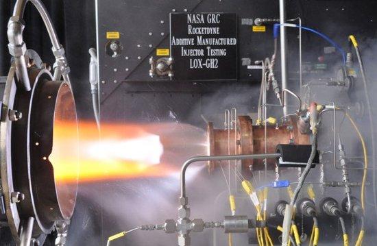 火箭发动机可3d打印!nasa完成首次点火测试