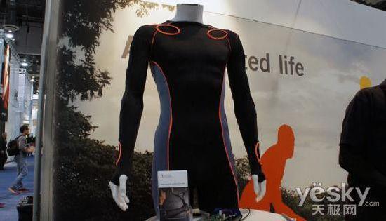 XelfleX智能运动衣:可建立3D运动模型