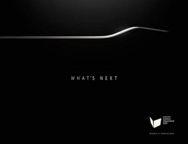 [图]What's Next--三星发邀请函 弧形版S6确定亮相