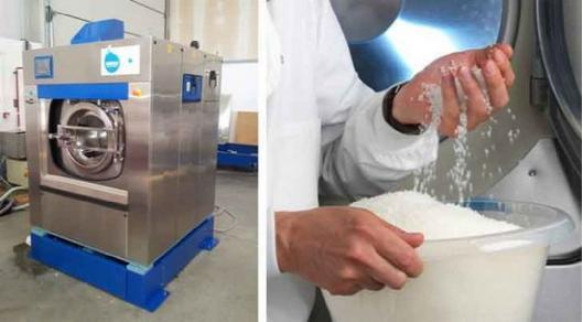 而此前德国设计师arman emami与惠而浦合作设计的超迷你滚筒洗衣机,看