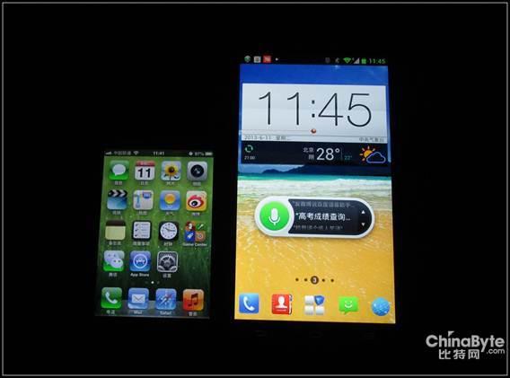 程序图标是4x5的设计,iphone4s是4x4 底栏其实就是一样的,但是看