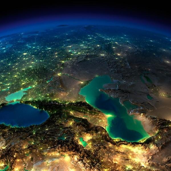 朝鲜半岛与中国分界地图